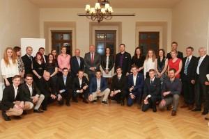 Setkání sportovců s ministrem vnitra 2017
